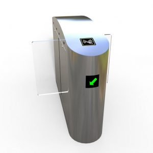 High Security Swing-Auto Turnstile Gate Access System