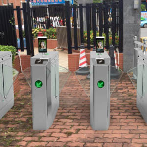 Automatic Flap Turnstile Gate Access System